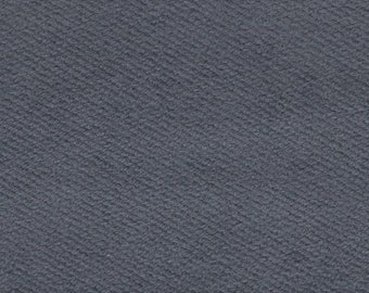 BTY vintage blue grey auto upholstery fabric brushed denim style
