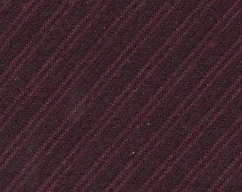 BTY Vintage 1987 Oldsmobile Cutlass Ciera Plum Cloth Auto Upholstery w/ Diagonal Stripes
