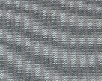3+ Yards Vintage Blue Grey Cloth Auto Upholstery w/ Ridges