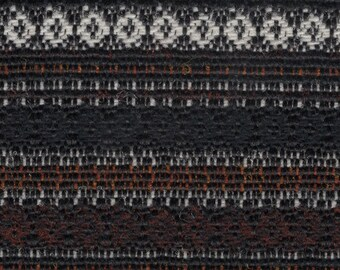 BTY vintage 1974 Chrysler Newport black Southwestern style upholstery