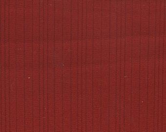 BTY vintage 1976 Chevrolet Impala red or black nylon stripe upholstery