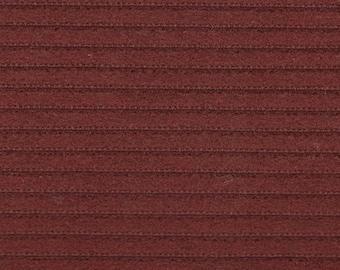 BTY Vintage 1979 AMC / Jeep / Spirit / Pacer / Wagoneer Dark Red Cloth Auto Upholstery w/ Ridges