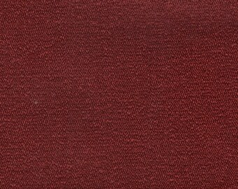 BTY vintage 1973 Pontiac Bravo cloth dark red upholstery