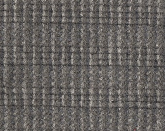BTY vintage 1986 Ford plush upholstery fabric with stripes