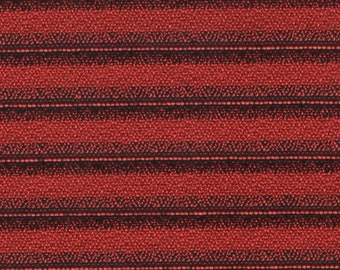 1 yard really cool 1965 red stripe Ford auto upholstery fabric