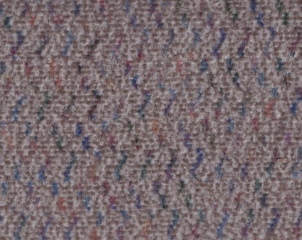 BTY Vintage 1988 Chevrolet Grey Multicolored Velour Auto Upholstery