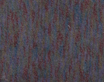 BTY Vintage 1998 Plymouth Grey Velour Auto Upholstery w/ Multicolored Stripes