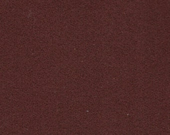BTY Vintage Dark Rust Suede Cloth Auto Upholstery