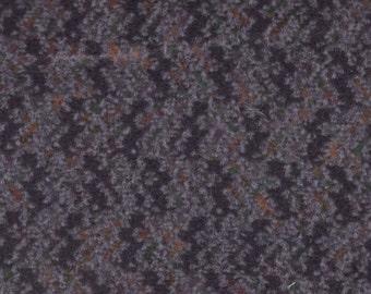 BTY Vintage Dark Grey Plush Velour Auto Upholstery w/ Zig Zags