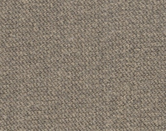 BTY vintage auto upholstery brown velour fabric