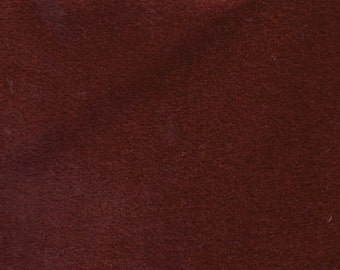 BTY Vintage Burgundy Red Plush Velour Auto Upholstery