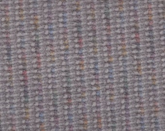 BTY Vintage Grey Multi-Colored Plush Velour Auto Upholstery