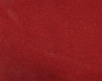 BTY Vintage Red Plush Velour Auto Upholstery