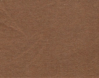 BTY vintage plush gold brown velour upholstery