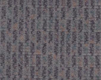1 3/4 Yards Vintage Grey Plush Velour Auto Upholstery