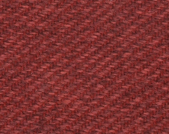 BTY vintage 1990s Pontiac upholstery woven reds