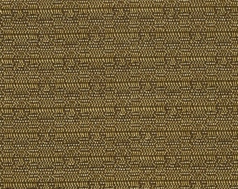 1 1/3 yard 1970  Chevrolet Malibu Panelled Gold Woven Abstract Auto Upholstery
