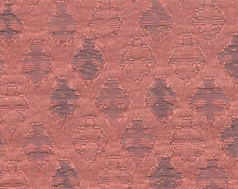 BTY mid century 1964 Pontiac Star Chief dusty rose upholstery fabric