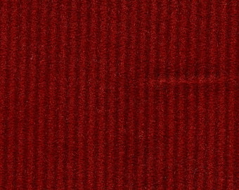 BTY 1978 Chevrolet Pontiac Impala/Malibu/Phoenix Grand Am/ Grand Prix Red Stripe Knit Nylon Auto Upholstery
