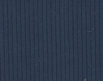 BTY Vintage 1973-76 Ford Dark Blue Nylon Auto Upholstery w/ Ridges