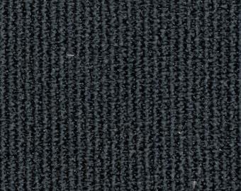 BTY Vintage Blue Plush Velour Stripe Auto Upholstery