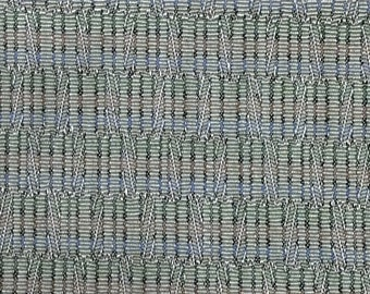BTY mid century 1963 Oldsmobile auto upholstery gold multi colors