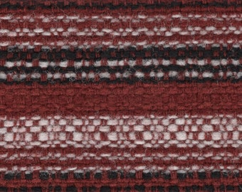 BTY vintage 1975 Plymouth or Dodge striped upholstery fabric