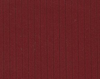 BTY Vintage Dark Red Nylon Auto Upholstery w/ Ridges