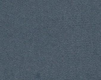 BTY vintage dark blue grey plush velour upholstery