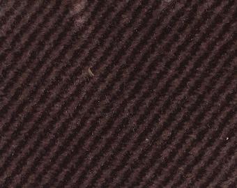 BTY Vintage 1989 Honda Burgundy Plush Velour Auto Upholstery w/ Stripes