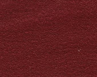 BTY Vintage 1975 Pontiac Dark Red Bravo Cloth Auto Upholstery