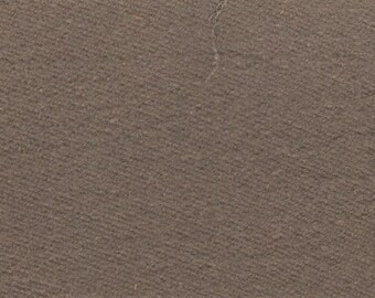 BTY vintage 1988 Plymouth dark taupe flannel finish upholstery