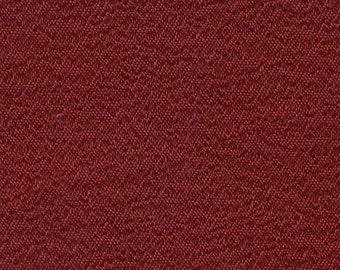 BTY Vintage 1974 Pontiac / Oldsmobile Dark Red Bravado Cloth Auto Upholstery