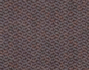 BTY Vintage Brown Multicolored Plush Velour Auto Upholstery w/ Squiggles