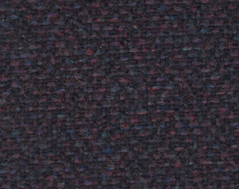BTY Vintage Black Cloth Auto Upholstery w/ Speckled Colors