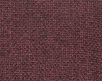 BTY vintage woven dark red auto upholstery
