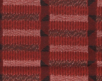 38 by 55 inches really cool 1950s auto upholstery fabric