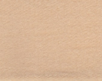 BTY Vintage Yellow Tan Flannel Cloth Auto Upholstery