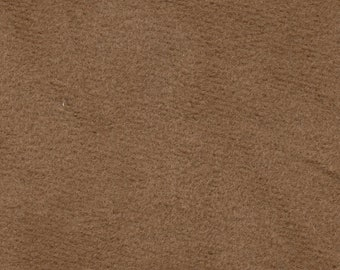 1 1/2 YD Vintage Camel Suede Cloth Auto Upholstery