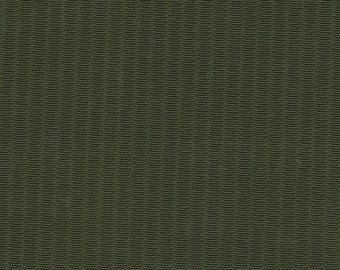 1 5/6 Yards Vintage Green Nylon Auto Upholstery w/ Ridges