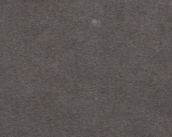 2 Yards Vintage Grey Plush Velour Auto Upholstery