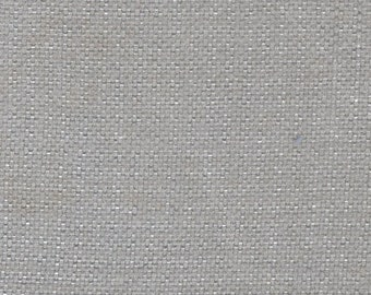 BTY vintage auto upholstery woven dove grey with fuzzy finish