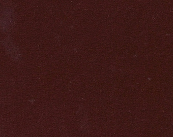 BTY Vintage 1976 Pontiac / Chevrolet / Oldsmobile / Buick Dark Red Velour Auto Upholstery