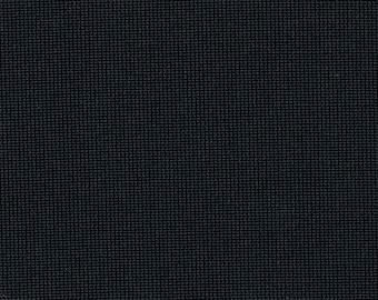 2 yards Vintage Black Knit Nylon Auto Upholstery