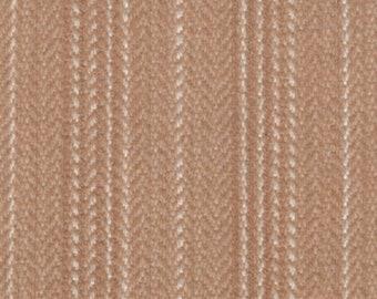 BTY vintage 1977 Chevrolet Malibu Camaro Vega tan stripe upholstery