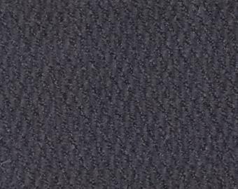 1 1/3 Yards Vintage Dark Grey Tweed Plush Velour Auto Upholstery
