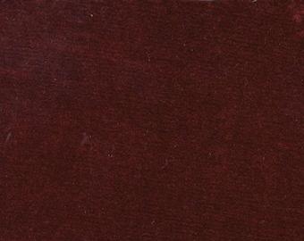 BTY Vintage Dark Red Plush Auto Upholstery