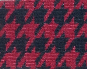 BTY vintage 1979 Ford Upholstery houndstooth 3 colors