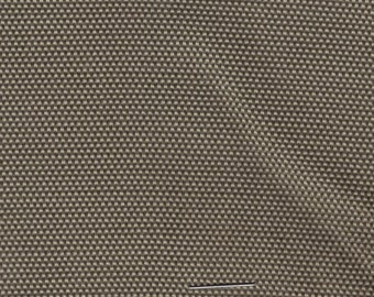 1 1/3 Yards Vintage 1963 Chevrolet Khaki Cloth Auto Upholstery