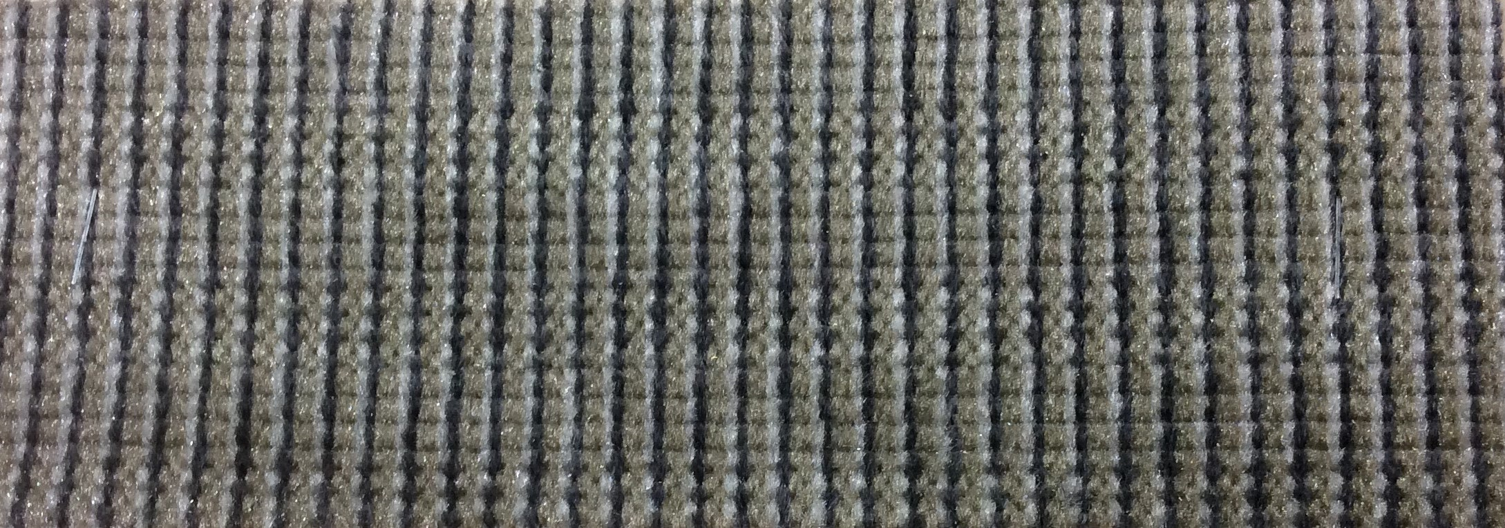 BTY Vintage 1988 Chevrolet Multi-Colored Striped Velour Auto Upholstery